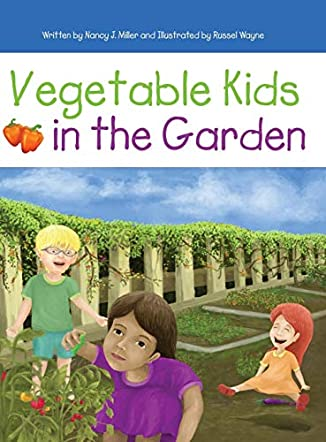 Vegetable Kids in the Garden
