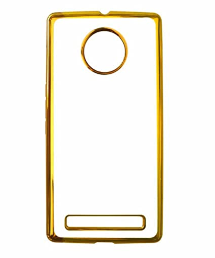 separation shoes 4ff83 ef815 COVERNEW Back Cover for YU Yunique YU4711 - Golden: Amazon.in ...