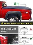 chevrolet colorado bed liner - Premium Tri-Fold Truck Bed Tonneau Cover 2004-2012 Chevy Colorado / GMC Canyon; 2006-2008 Isuzu I280 | Fleetside 6' Bed