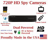 SecureGuard 720P HD 8 Hour Battery Powered Spy Camera Hidden inside a Mobile Bluetooth Speaker HD Nanny Camera Spy Gadget AMAZING HD SPEAKER + AMAZING HD SPY CAMERA Spy Gear Gadget (New 2018 Model)