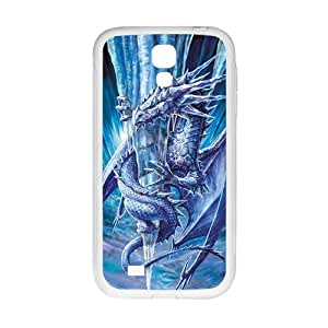 Frozen Ice Dragon White Samsung Galaxy S4 case