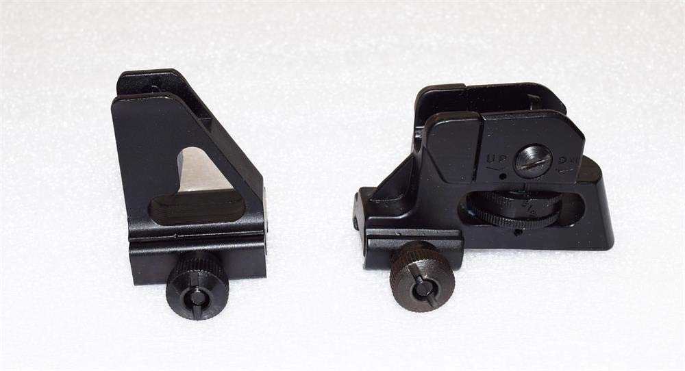 15rail- High Profile Detachable Front Sight + Tactical Match Rear Sight