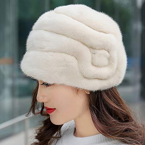 Invierno De Red Blanco 100 Grueso Algodón Mujer color Para Tamaño Weiyv Gorro Cálido Metro dIqTwfI