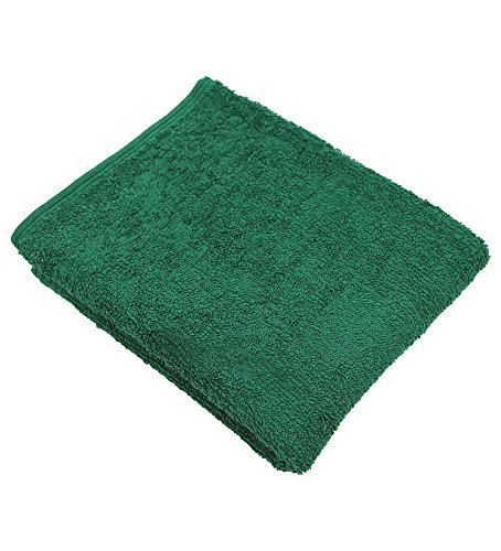 (RC ROYAL CREST by Sigmatex – Lanier Textiles 100% Cotton Beauty Salon Towels Sports Towels Hand Towels 16x26 inches 6 Pack (Forest Green))