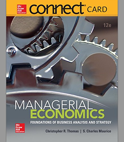 Connect Access Card for Managerial Economics
