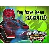 Power Rangers Jungle Fury Invitations w/ Envelopes (8ct)