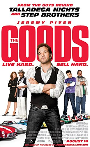 THE GOODS Original Movie Poster 27x40 - DS - JEREMY - Jeremy Movies Pivens