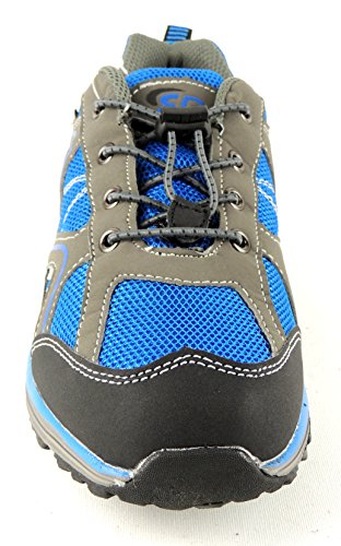 Bruetting Minnesota - zapatillas de trekking y senderismo de material sintético niños royalblau/grau