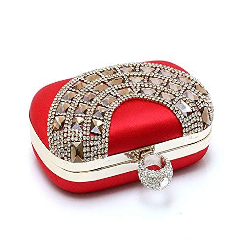 Diamants fériés à Parti 6x5inch Pochette d'autres de soirée Jours de Sac Et Fashion B soirée Brille Mini Sacs 15x13cm A Bal de Main Incrusté Strass OxzAqwp