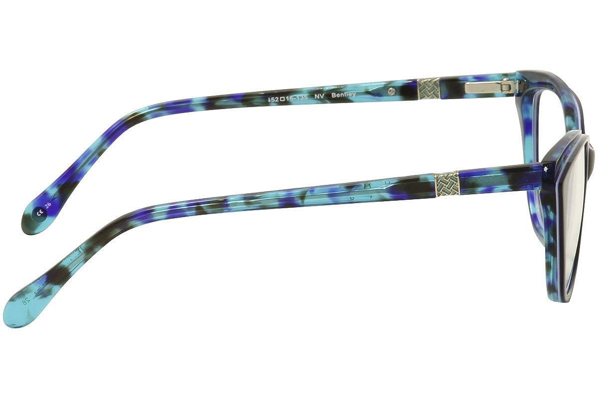 Lilly Pulitzer Womens Eyeglasses Bentley NV Navy//Green Tort Optical Frame 52mm