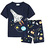 Little Boys Pajamas Cars Motorcycle 100% Cotton Toddler Short Sleeve Sleepwear Boys Summer PJs Clothes Outfit Sets 2-7T