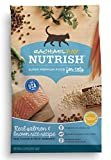 Rachael Ray Nutrish Natural Dry Cat Food, Salmon & Brown Rice Recipe, 6 lbs