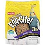 Kaytee Forti Diet Egg-Cite Food for Cockatiels, 5-Pound Bag, My Pet Supplies