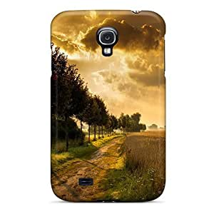Bernardrmop UmQWPSI4771OEYjq Protective Case For Galaxy S4(autumn Landscape With Trees)