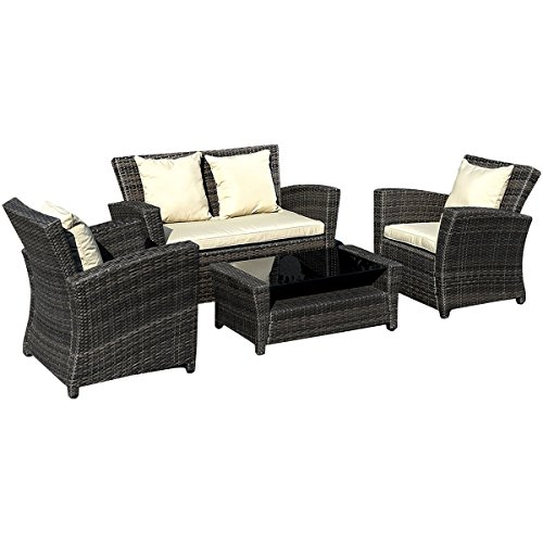 goplusr-4-pcs-brown-wicker-cushioned-rattan-patio-set-garden-lawn-sofa-furniture-seat