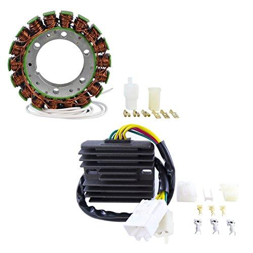 (Kit Stator + Voltage Regulator Rectifier For Honda CBR 929 RR 2000 2001 OEM Repl.# 31120-MCJ-003 31600-MCJ-641)