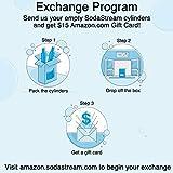 Sodastream 60L Co2 Exchange Carbonator, 14.5oz, Set of 2, plus $15 Amazon.com Gift Card with Exchange