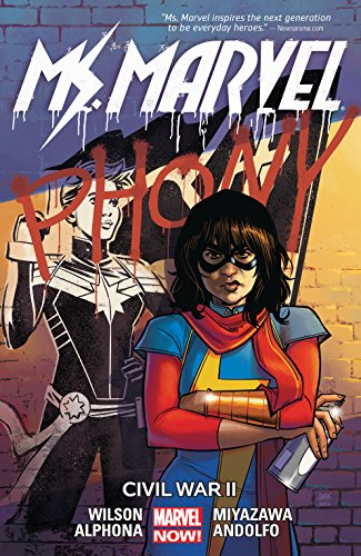 Ms. Marvel Vol. 6: Civil War II (Ms. Marvel (2015-)) cover