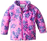 Columbia Baby Girls' Benton Springs II Fleece, Foxglove Print, 18 24 Months