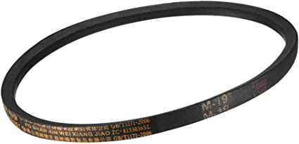 sourcing map A-27 Drive V-Belt Girth 27-inch Industrial Power Rubber Transmission Belt
