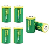 Delipow 6-Pack Universal 3V 800mAh CR2 Rechargeable Lithium Batteries Review