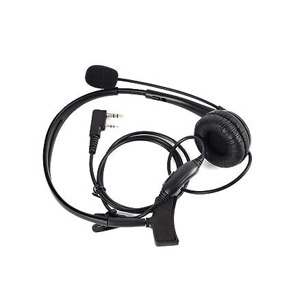 Amazon com: NAGOYA Two Way Radio Earpiece Headset with Mic Noise