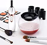 Makeup Brush Cleaner,Andolfi Professional Makeup Brush Cleaner and Dryer Machine, Cleans and Dries All Makeup Brushes in Seconds (Blush)