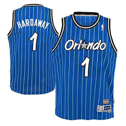 Genuine Stuff Anfernee Hardaway Orlando Magic NBA Youth Throwback Swingman Jersey - Blue