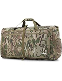60L Packable Travel Duffle Bag, Lightweight Water& Tear Resistant 14 Color Choices