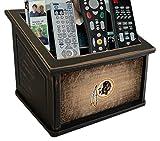 Fan Creations N0765-WAS Washington Redskins Woodgrain Media Organizer, Multicolored