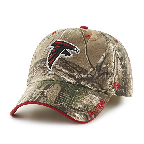 '47 NFL Atlanta Falcons Frost MVP Camo Adjustable Hat, One Size Fits Most, Realtree Camouflage
