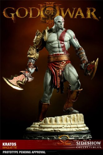 Sideshow Collectibles - God of War statuette Kratos 43 cm