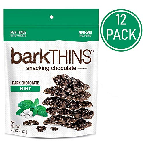 barkTHINS Snacking Dark Chocolate Mint