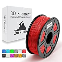 3D Hero ABS 3D Printer Filament 1.75 mm 1kg Spool(2.2lbs), Dimensional Accuracy +/- 0.02 mm, Compatible in 3D Printer & 3D Pen from SUNLU
