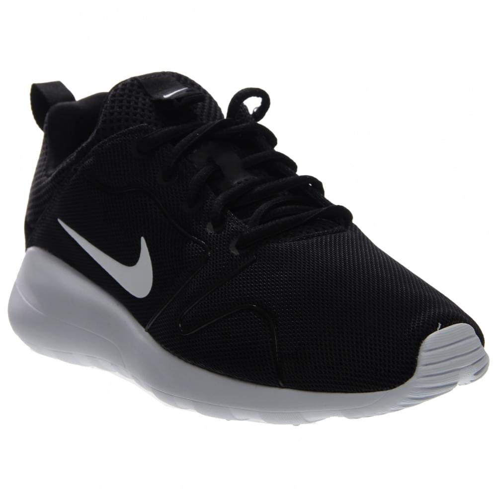 f441a841d5a36 Nike Mens Kaishi 2.0 Running Shoes Black/White 833411-010 Size 8