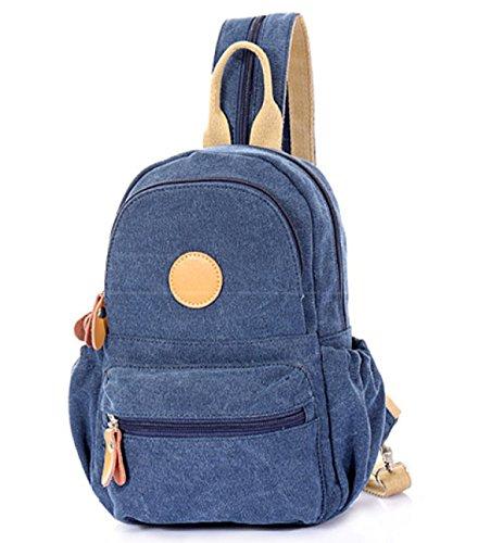Frauen Geschlossen Tasche Reißverschluss Umhängetasche Personalisierte Reise Leinwand Schule D