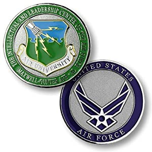 Air University, Maxwell-Gunter AFB, Alabama Challenge Coin