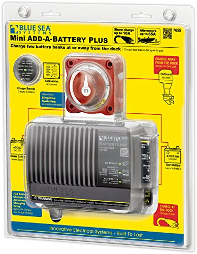 Battery Switch Series Mini (Blue Sea Systems Add-A-Battery Kit)