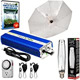 Yield Lab Horticulture 1000w HPS Grow Light Umbrella Reflector Kit Easy Setup Full Spectrum System For Indoor Plants And Hydroponics – Free Timer and 12 Week Grow Guide DVD