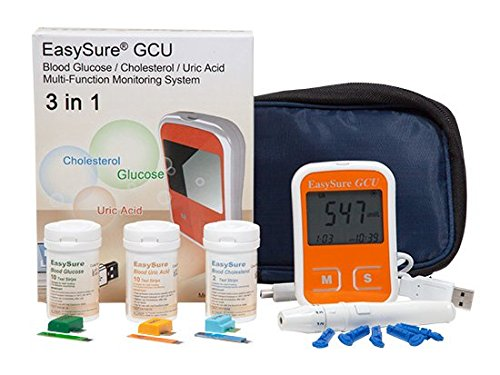 Easysure Cholesterol, UricAcid and Glucose Testing Device with PC link