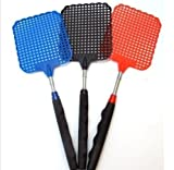 USA Premium Store HEAVY DUTY EXTENDABLE FLY SWATTER Plastic Bug Mosquito Insect Killer Telescopic