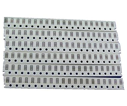 320Pcs 1206 SMD Capacitor assorted kit~OJ