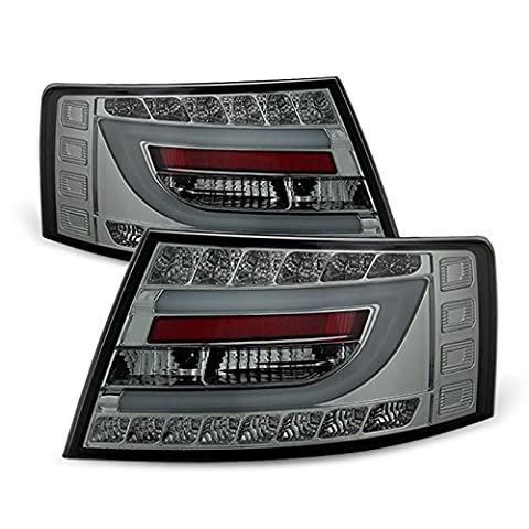 05-08 Audi A6 A6 Quattro Smoke Light Tube Design LED Tail LightsFOR OEM LED TAIL LIGHT MODEL - Audi A6 Light