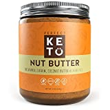 #3: Keto Fat Nut Butter Snack to Support Weight Management on Ketogenic Diet - Ketosis Superfood Raw Nuts: Cashew Macadamia Coconut w Vanilla Sea Salt & MCT Oil - Paleo, Gluten Free & Vegan Low Carb Snack