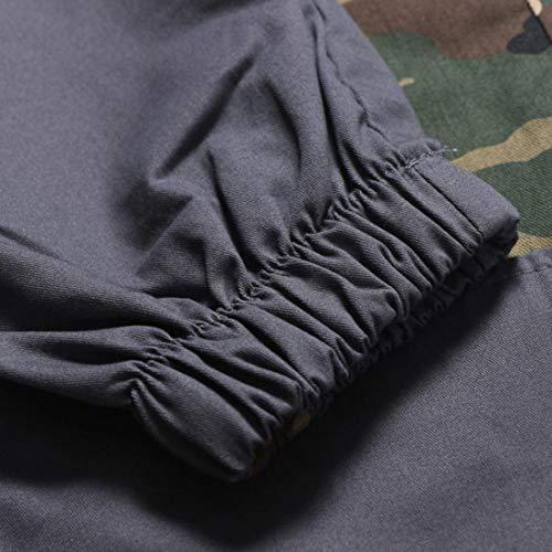 Designer Cargo Camouflage Estilo Uomo Chino Longra Pantaloni Especial Regular Jeans Abbigliamento Slim Grigio Jogger Pattern Da 6nXqz