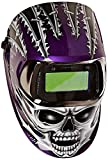 3M Speedglas Raging Skull Welding Helmet 100 with Auto-Darkening Filter 100V- Shades 8-12, Model 07-0012-31RS