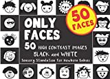50 FACES - ONLY FACES ǀ 50 High Contrast Images