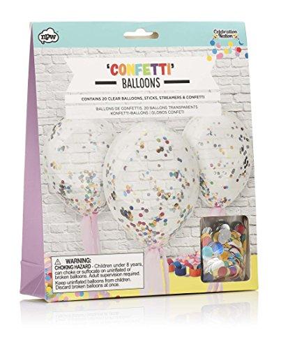 NPW-USA Make Your Own Confetti Balloons Set -
