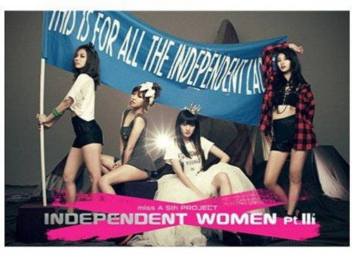 CD : Miss A - Independent Women 3 (Asia - Import)
