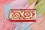 Leather Wallet ''Fleur''
